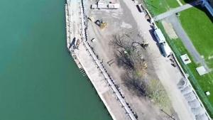 LaSalle/Ralph C. Wilson Jr. Park shoreline protection project update - September 2021