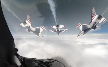 Thunderbirds Diamond Cockpit Footage Fixed