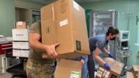 Kentucky National Guard Assists COVID-19 Hospital Support Effort