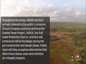 Coastal Texas Study Chief's Report Signing