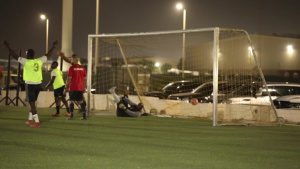 U.S. Service Members Strengthen Partnership With Kuwaitis with Friendly Soccer Match