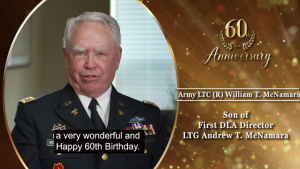 A Very Special Shout Out from LTC (R) William T. McNamara, son of DLA's first Director
