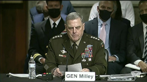 Defense Leaders Testify at Senate on Conclusion of Military Operations in Afghanistan, Part 1