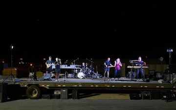 Pt. 1 - AFCENT Band Performs Country Concert at PSAB