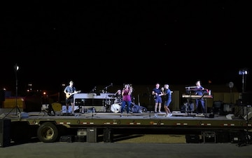 Pt. 2 - AFCENT Band Performs Country Concert at PSAB
