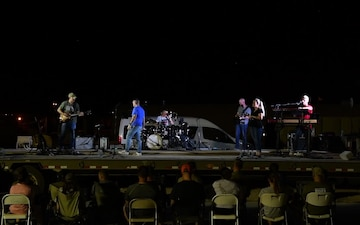 Pt. 2 - AFCENT Band Performs Pop and Rock Concert at PSAB