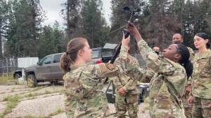 The 355th OSS and the 25th OWS trained at DM's Mt. Lemmon RAWS site.