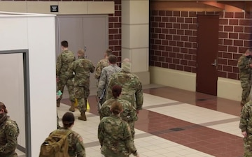 Wisconsin National Guard COVID-19 Support Recognition Video