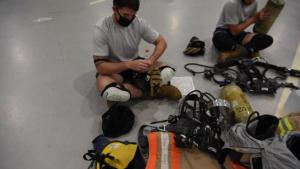Fire Training Mission (b-roll)