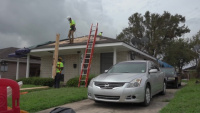 First Blue Roof Install- Hurricane Ida Recovery