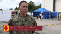 Rail Gunners help support Operation Allies Welcome in Ramstein Air Base, Germany
