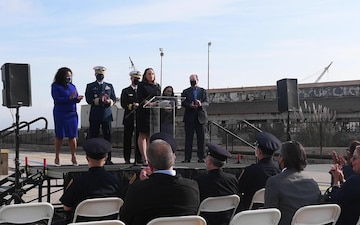 San Francisco Mayor London N. Breed speaks during a press conference