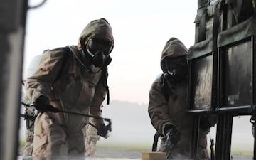 83rd CBRN Battalion Decontamination Training