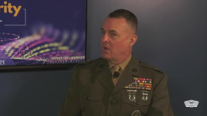JAIC Commander Hosts Fireside Chat at Billington CyberSecurity Summit