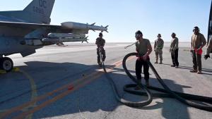 F-16 Hot Pits Showcase Interoperability