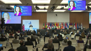 Annual Session of the NATO Parliamentary Assembly - Nancy Pelosi award acceptance