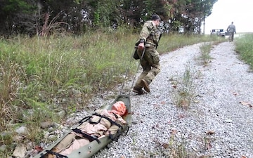 Casevac lane B Roll at Army Best Warrior Competition