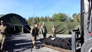 V Corps Conducts Warfighter 22-1