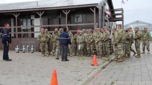 Camp Bondsteel Safety Stand Down – Fire Extinguisher Training