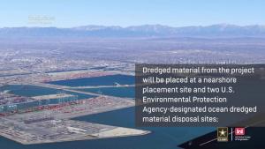 Port of Long Beach Deep Draft Navigation Plan Chief's Report Signing