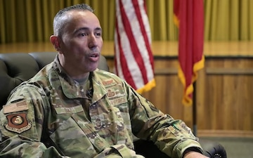 Third AF command chief discusses Hispanic Heritage Month with AFN Incirlik