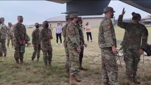 Students React to Osprey Landing