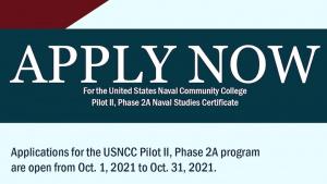 News You Can Use - USNCC Pilot II Application Window