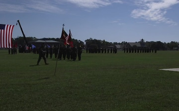 II MEF Information Group Relief, Appointment, Retirement Ceremony