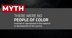 COVID-19 Vaccine Myths Dispelled 01 - People of Color