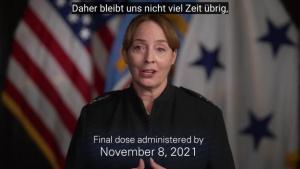 DLA Director COVID Vaccine Message (German)