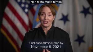 DLA Director COVID Vaccine Message (Italian)