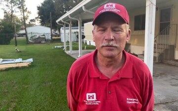 Corps employee volunteers for Hurricane Ida recovery