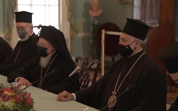 Secretary Blinken meets with His All-Holiness Ecumenical Patriarch Bartholomew