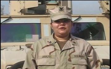 Petty Officer 2nd Class JOSEFINA CAVAZOS