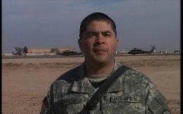 1st Sgt. David Garcia
