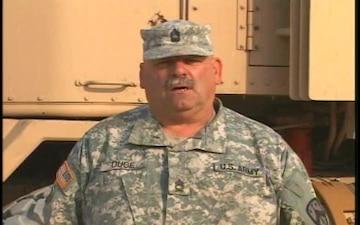 Master Sgt. Charles Dube