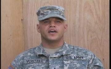 Pfc. Christopher Vontell