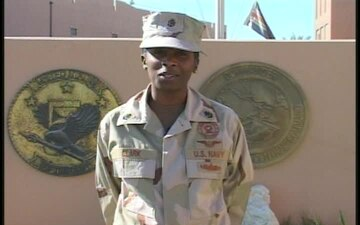 Chief Petty Officer Nakesha Clark