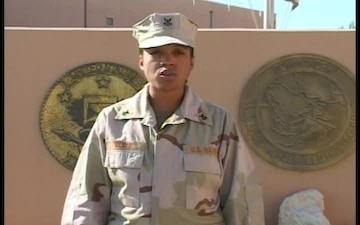Petty Officer 1st Class Kiffanie Walker