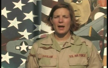 Tech. Sgt. Christine Haslam