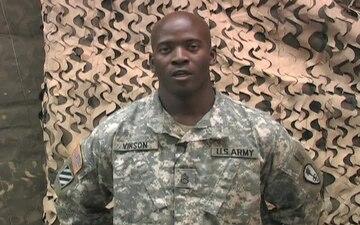 Staff Sgt. Carlos Vinson