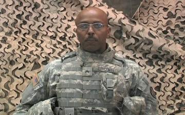 Sgt. Kent Brown