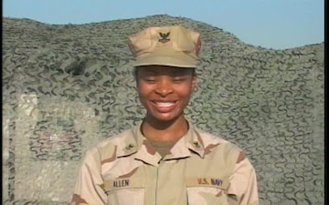 Petty Officer 2nd Class Joy Allen