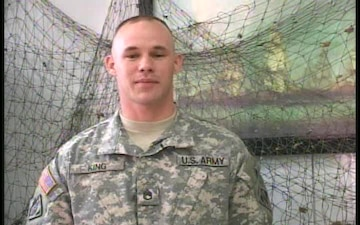 Staff Sgt. Jeremy King
