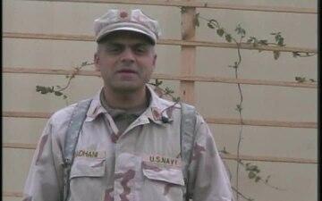 Lt.Cmdr. Suresh Thadhane