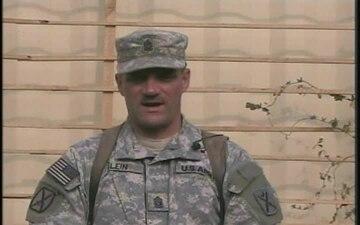 Command Sgt. Maj. Gus Klein