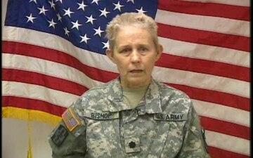 Lt. Col. Judy Bishop