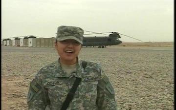 Pvt. Nancy Deleon