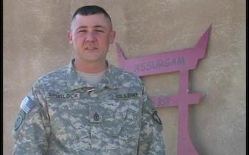 1st Sgt. Carl Spurlock