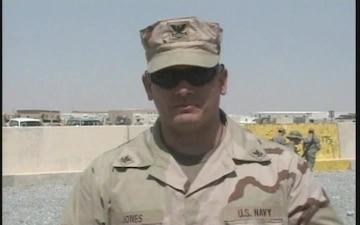 Petty Officer 2nd Class Danny Jones